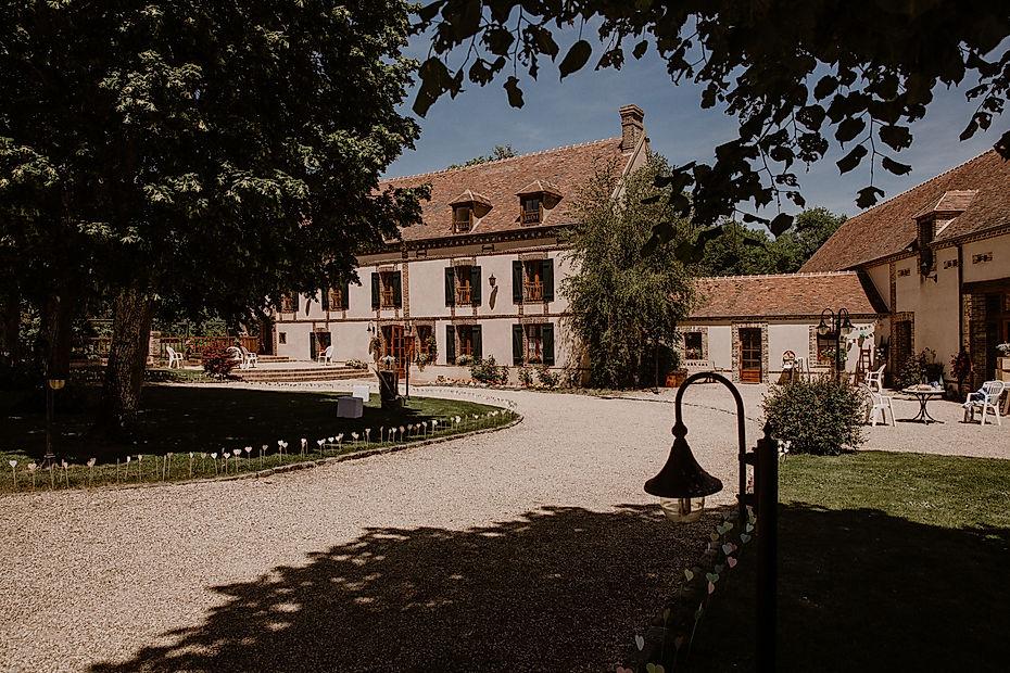 Mariage en Normandie , le Moulin des planches