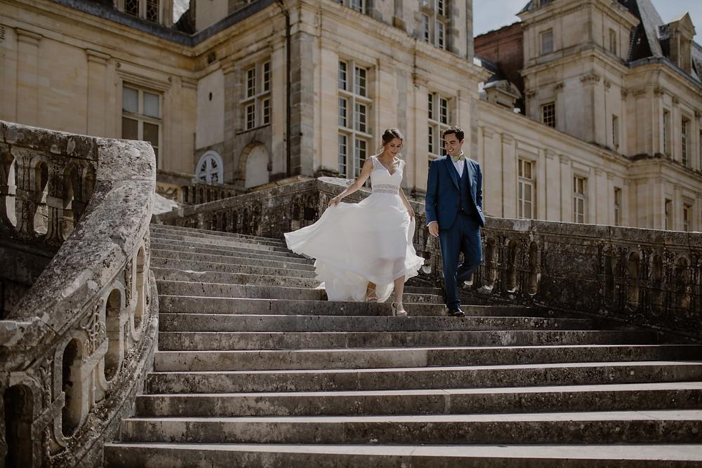 Mariage au domaine de Voisenon- Château de Fontainebleau