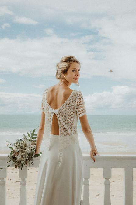 mariage à la mer