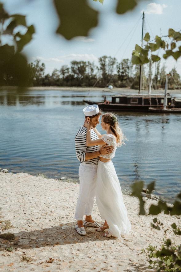 inspiration mariage au bord de l'eau