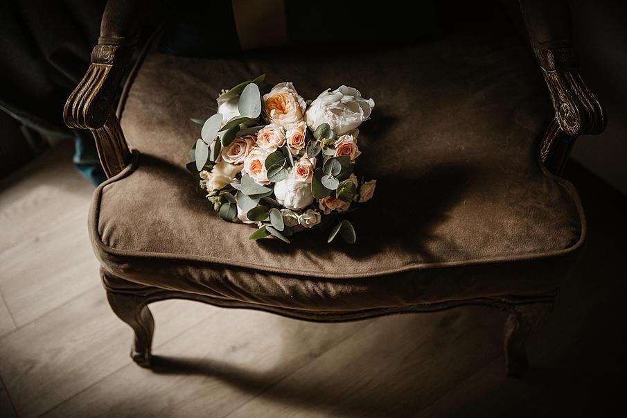 mariage à la pépinière -