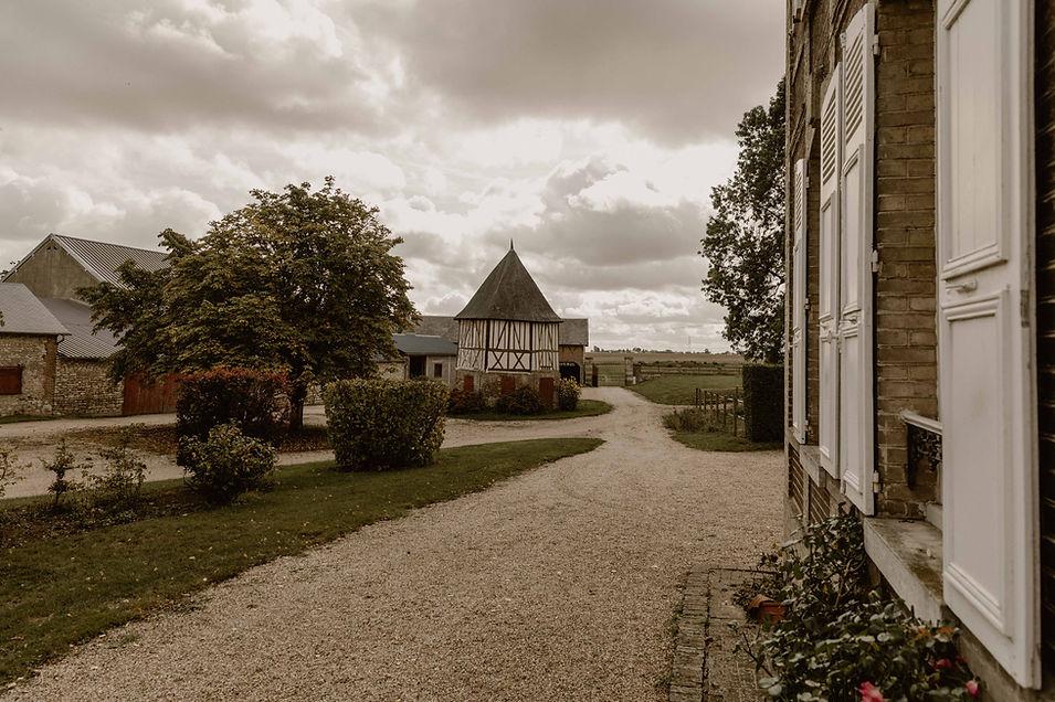 mariage en Normandie , gite de la Bucaille à guiseniers