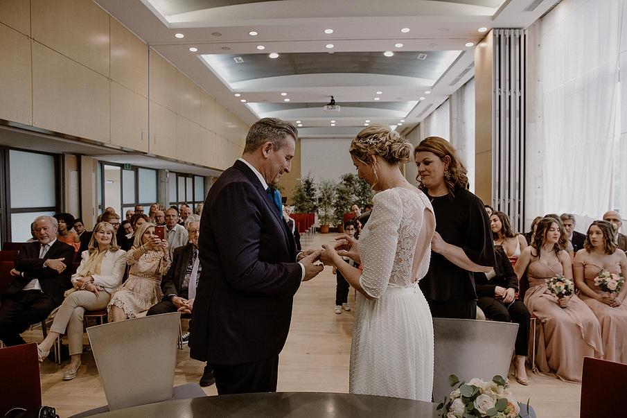 Mariage à la Pépinière
