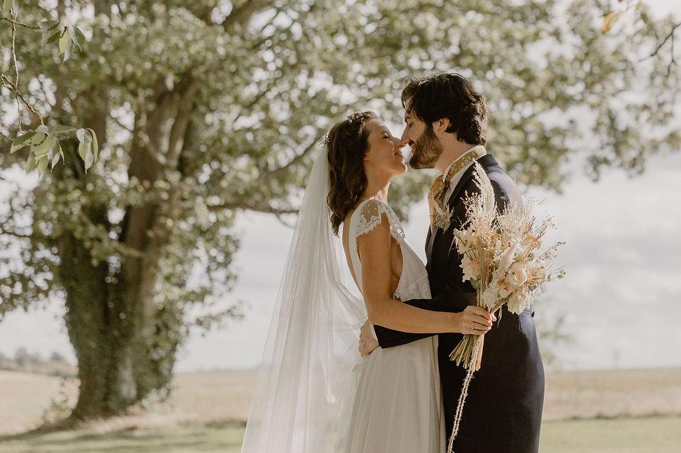 Mariage en Normandie , couple