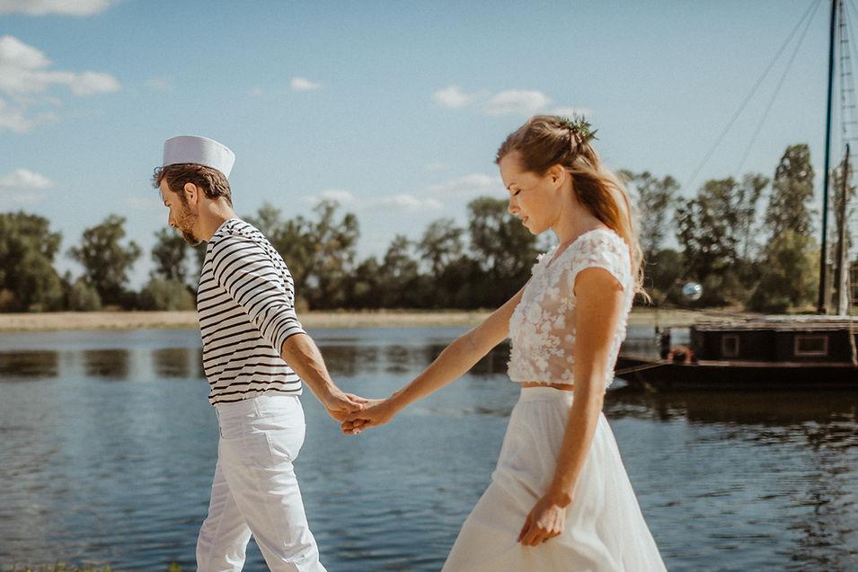 inspiration mariage en bord de Loire