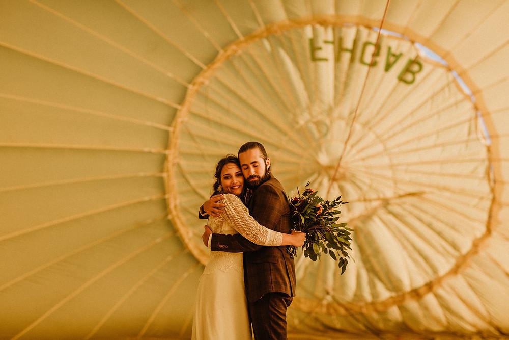 Inspiration  Mariage en montgolfière , rétro vintage