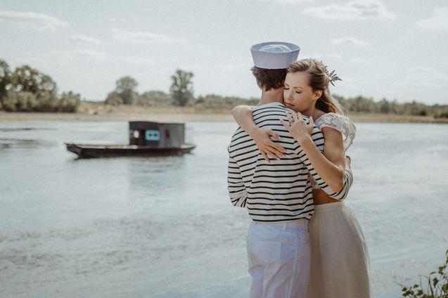 inspiration mariage au bord de la Loire