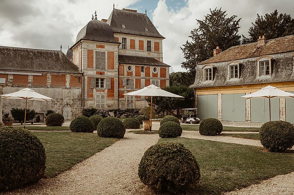 Mariage américain au chateau de Courson