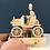 Thumbnail: Vintage Car Natural Wood Moving Model Kit Various Accessory Options