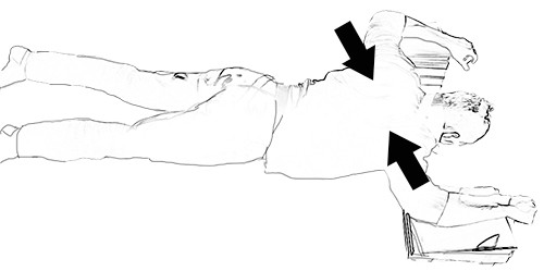 טיפול עצמי בכאב גב תחתון - שחרור שרירי הגב הזוקפים