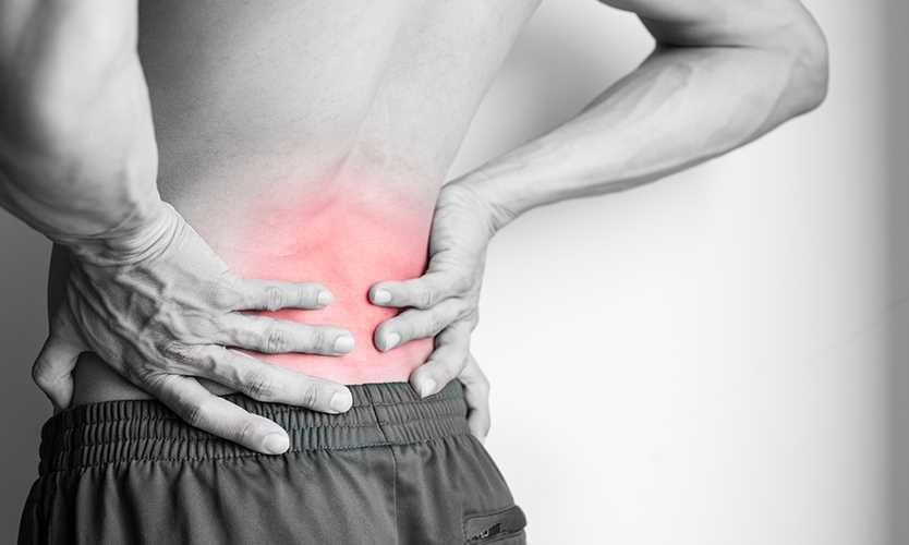 טיפול עצמי בכאב גב תחתון