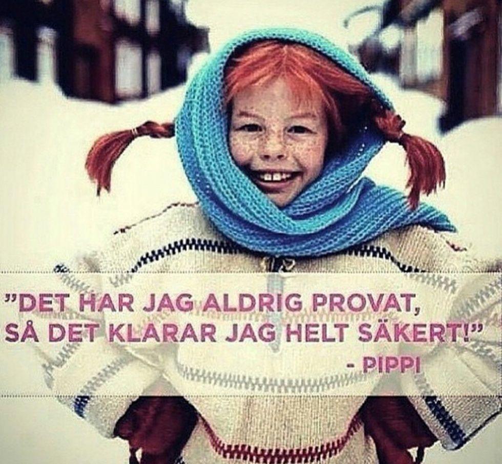 Astrid Lindgren Pippi-Citat