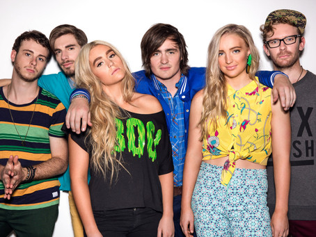 """QLD Sound and Lighting in Gladstone with Indie-Pop rockers """"Sheppard"""""""
