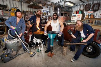 """QLD Sound and Lighting supplies audio and backline for """"The Beards"""" at Parkwood Tavern"""