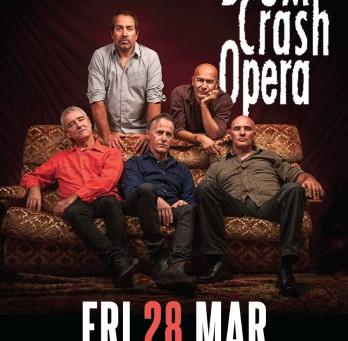 QLD Sound and Lighting provides production for Boom Crash Opera