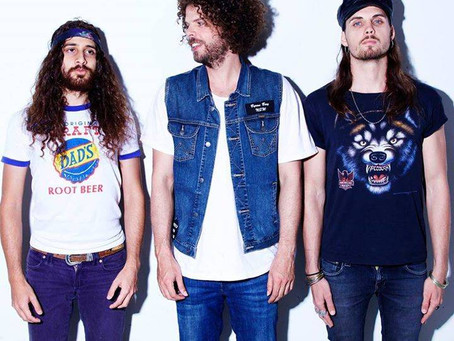 QLD S&L supplies production for Wolfmother at Airlie Beach & Townsville