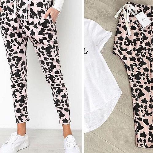 Blush Animal pants