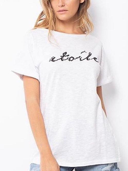 Sequin Etoile T Shirt