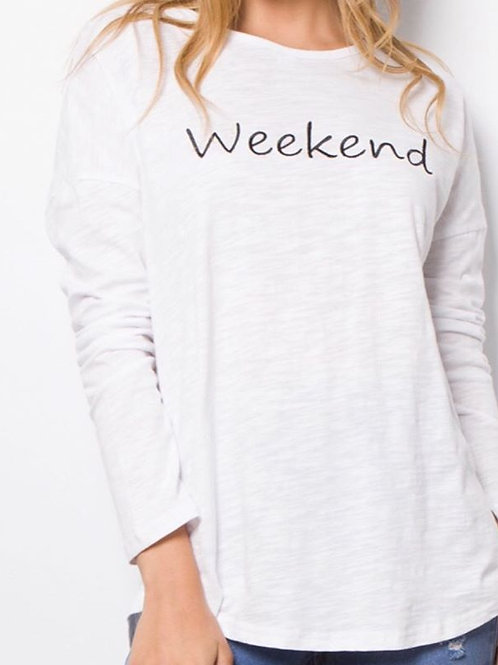 Weekend Long Sleeve Tee