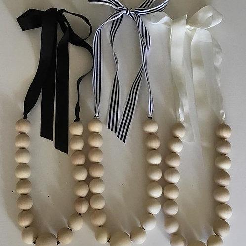 Long Wooden beads