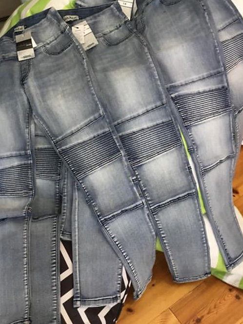 Wakee Stretch Panel Jeans