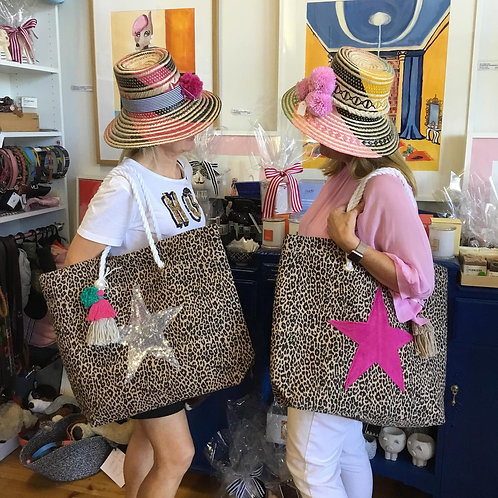 Star Carry Alls - Large Canvas Totes