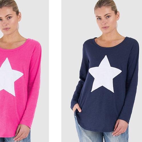 Star Long Sleeve T