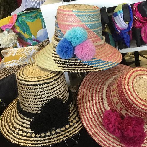 Wayuu Pompom Hats