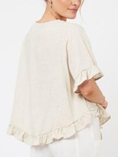 White Linen frill