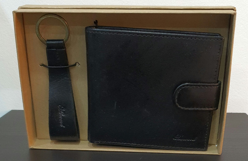 GS-1287 Leather Wallet Gift Set
