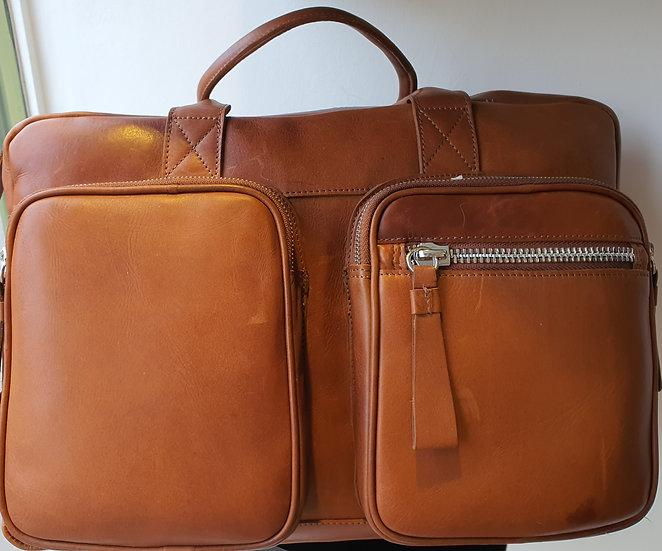 1662 Leather Laptop Briefcase