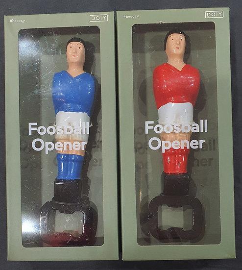 Footballer bottle opener
