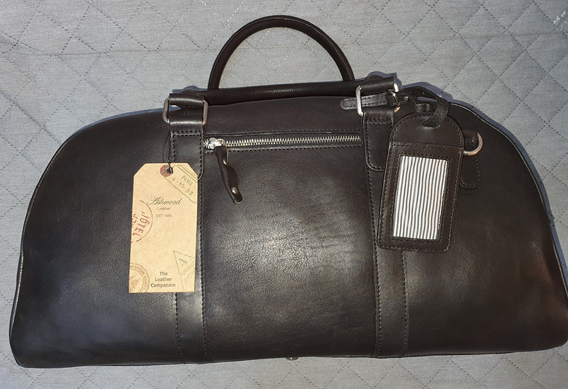 Hamilton Leather Holdall