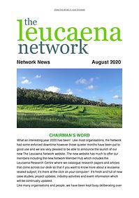 FP.The Leucaena Network August 2020 News