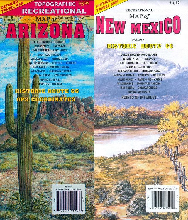 Arizona and New Mexico Bundled Set
