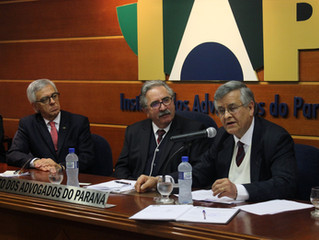 Prof. Clayton é recepcionado como membro do Instituto dos Advogados do Paraná