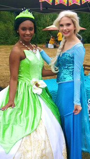 Frog Princess and Snow Queen