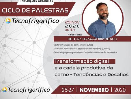 Transformação digital será tema de palestra da Tecnofrigorífico
