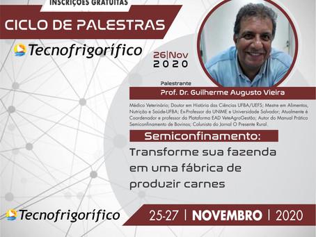 """Colunista do Presente Rural fará palestra sobre """"Semiconfinamento no Ciclo de Palestras 2020"""