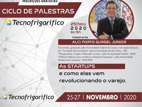 Diretor Técnico do Sebrae Ceará, Dr Alci Porto Gurgel  Junior fará palestra sobre Startups.