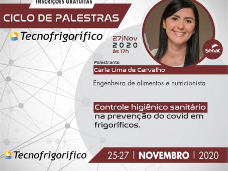 """Nutricionista Carla Lima ministrará palestra gratuita sobre """"Controle higiênico sanitário"""""""