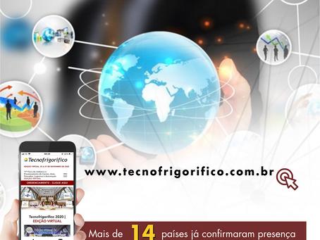 Alcance mundial da Tecnofrigorífico, edição virtual.