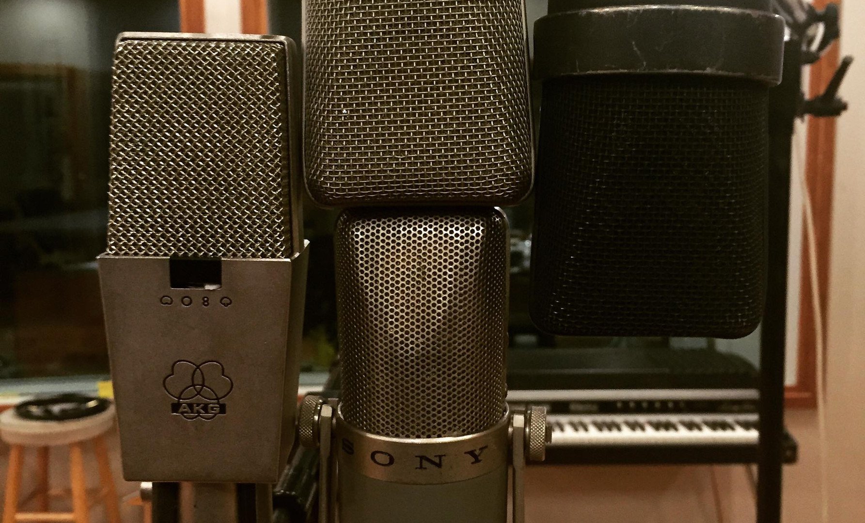 Vintage Microphone Collection
