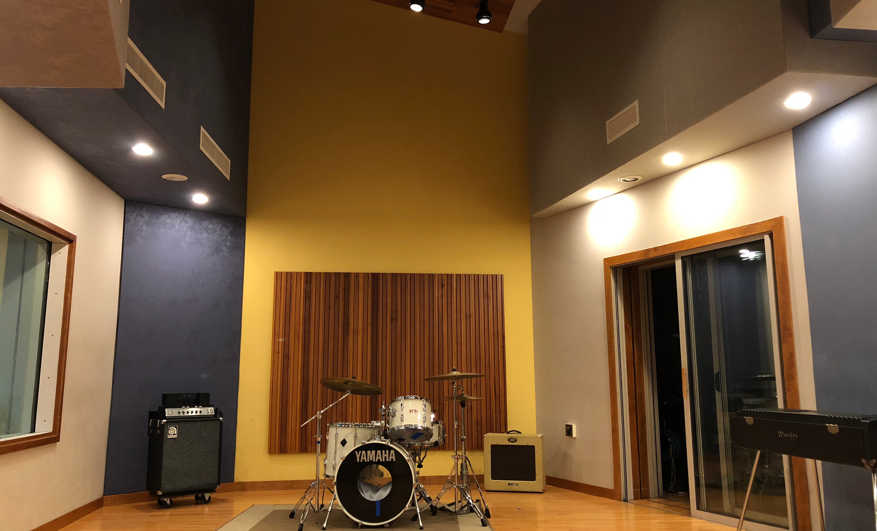 A Room at Forge Recording