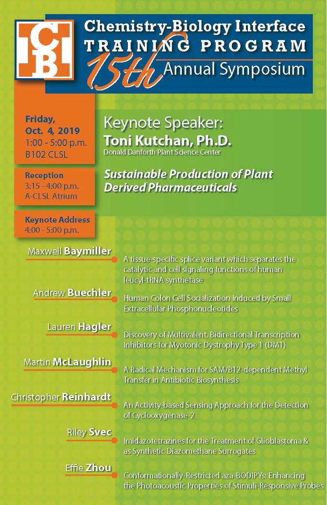 15th Annual Symposium