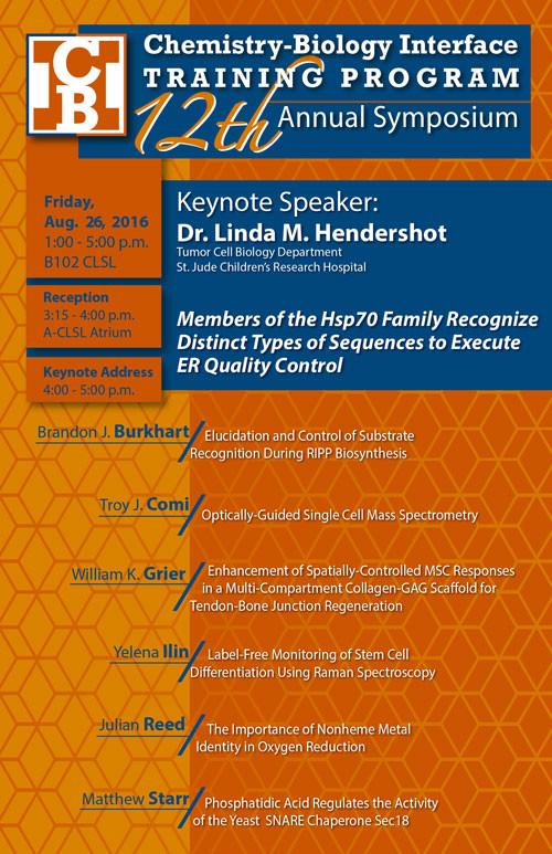 12th Annual Symposium