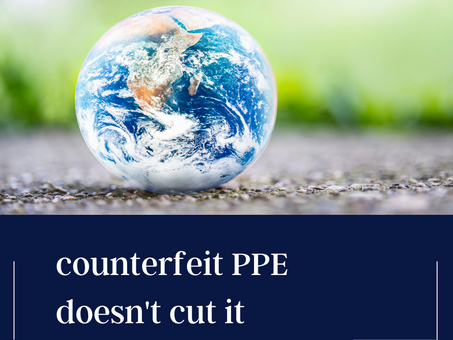 Combat Counterfeit PPE: How to tell the difference
