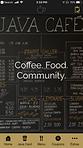 Java Cafe iOS App