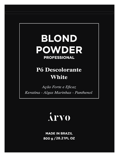 Blond Powder Descolorante Branco 800g