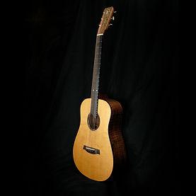 bent twig mini dreadnougth guitar